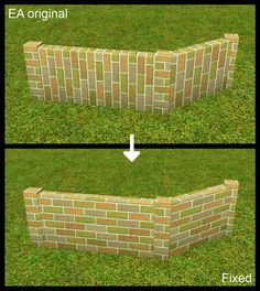 armiel@MTS - SHT: Simply Stylish Wall -Fence Fixed! #Sims3