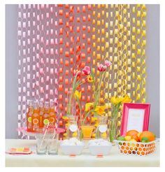 Summer party display #outdoor #kids #party