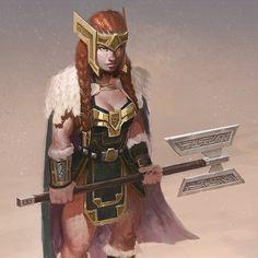 Female Dwarf for Cohorts: Veil of Entropy, by Rob Joseph