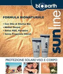 sunline bioearth - protezione alta