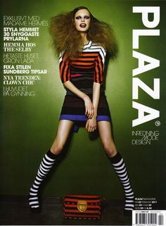 on the cover of swedish plaza magazine aswell ...