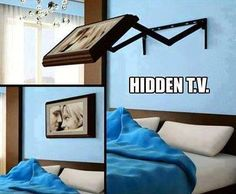 Hide Your TV With Style