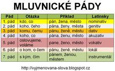 Pády českého jazyka