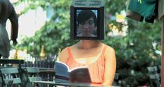 freaky head lady