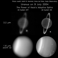 Uranus - Galleries   Planets - NASA Solar System Exploration