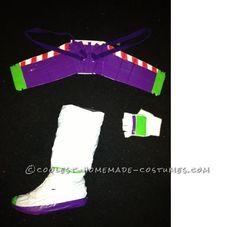 Easy Buzz Lightyear and Woody Couple Halloween Costume...
