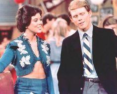 Ron Howard ed Erin Moran in Happy Days