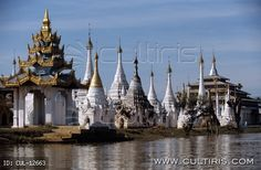 Ázsia, Burma, Myanmar, Mianmar, Inle-tó, pagodák Burma Myanmar, Cathedral, Building, Travel, Viajes, Buildings, Trips, Traveling, Tourism