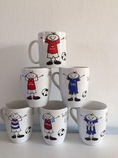 IPSWICH TOWN Football Secret Santa Fun Mug Christmas Gift Personalised Handmade
