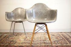 Rare 1st Production PAW Rope Edge Elephant Hide Grey Zenith #Swivel #Chair, #HermanMiller