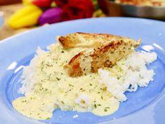 Krämig kycklingpanna med dragon, senap och vitlök. Enkel vardagsmat!