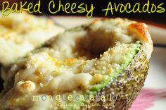 Razing Mayhem | Parenting & Photography - Home - Baked Cheesy Avocados: A Recipe