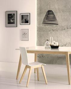 nordic style chair Avant silla nórdica colección Avant Indufex