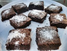 Chewy Chocolate Brownies #eggless