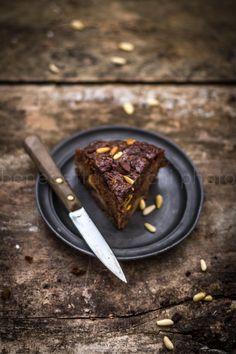 torta vegana mele e cioccolato