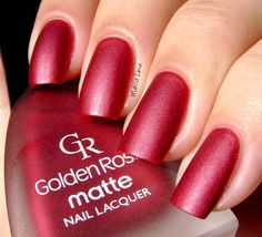 The Dark Side Of The Color: 04 Golden Rose Matte