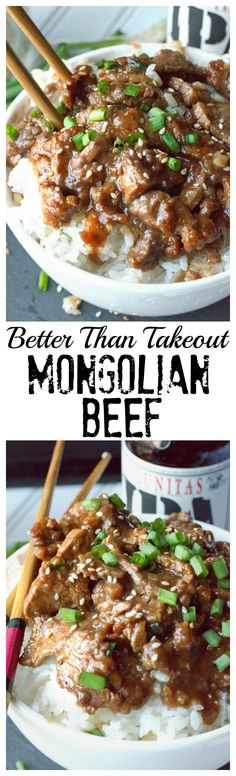 This Mongolian Beef recipe is healthy and full of flavor better than any takeout!