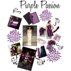 purple passion designed by Claire
