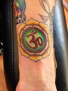 One of my Ohm tattoos