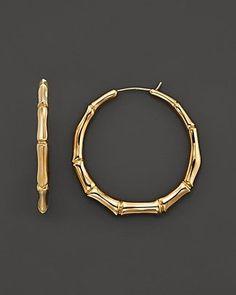 Gucci Bamboo Earrings #goldearrings