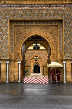 nikon nikkor 3 photos HDR trip to morocco See more - Morocco HDR Set Islamic Architecture, Beautiful Architecture, Art And Architecture, Moroccan Design, Moroccan Style, Magic Places, Places To Go, Islamic World, Islamic Art