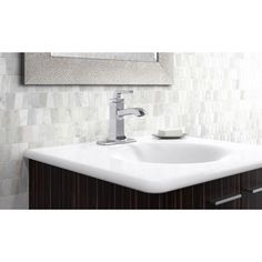 KOHLER Rubicon Single Hole 1-Handle Bathroom Faucet in Polished Chrome