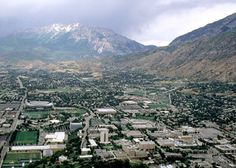 ~ Brigham Young University Campus ~ Provo, Utah....Where I got my Bachelors Degree