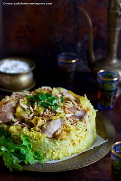Maqluba (and upside down chicken and rice bake)