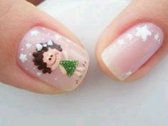 Uñas Animal Nail Designs, Nail Art Designs, Acrylic Nails, Gel Nails, Manicure, Cute Nail Art, Love Nails, Hair And Nails, Hair Beauty