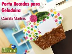 Programa Arte Brasil - 06/02/2015 - Camila Camargo - Porta Recados para Geladeira - YouTube