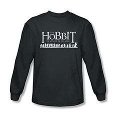 Hobbit Battle Of The Five Armies Walking Logo Long Sleeve T-Shirt