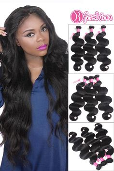 Hair Weaves Precise 4 Bundles Body Wave Hair Weave Brazilian Human Hair Extensions Wet And Wavy Brazilian Body Wave Hair Deal Free Shipping Promoting Health And Curing Diseases Hair Extensions & Wigs