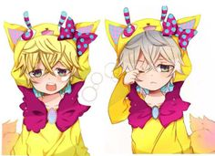 anime, manga, anime chibi, karneval, cute