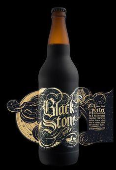 Blackstone porter for driftwood brewery 13 productive packaging design trends 2020 Beverage Packaging, Bottle Packaging, Bottle Labels, Coffee Packaging, Wine Labels, Food Packaging, Beer Bottles, Packaging Ideas, Oktoberfest