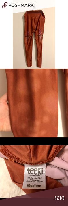 TEEKI leggings / hot pants only worn once! super soft, and light leggings TEEKI Pants Leggings