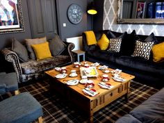 Afternoon Tea served in a private lounge for you and your party? The Clifton Hotel & Coffee shop South Shields.  Award winning family run business