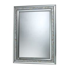 Sterling Industries DM1948 Sardis Mirror in Brushed Steel and Mother of Pearl Shell >>> This is an Amazon Affiliate link. To view further for this item, visit the image link.