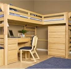 Bunk Bed Plans With Desk And Storage This is a great bunk bed that provides a work area and storage.  For more great resources you can visit our blog. Or you can follow us on our social networks at:     Facebook              Twitter             Google+                     Pinterest