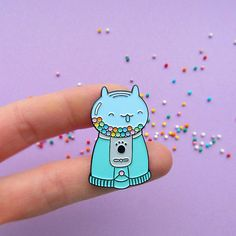 Gumball Machine Cat Enamel Lapel Pin cat pin by catmadecom Cat Jewelry, I Love Jewelry, Jacket Pins, Cat Pin, Cool Pins, Metal Pins, Pin And Patches, Up Girl, Pin Badges