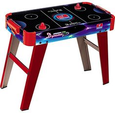 #PopularKidsToys Just Added In New Toys In Store!Read The Full Description & Reviews Here - INDOOR ARCADE KIDS AIR HOCKEY GAMING GAME TABLE FUN PLAY HOME OFFICE SCHOOL - INDOOR AIR HOCKEY TABLE GAME The sleek and professional design of the Dynamic Air Hockey Game Table provides top class functionality playability and robustness for hours of fun! Easy to Assemble Ideal for Home, office or school use Hard wearing design makes it great to play on and will maintain it's sle