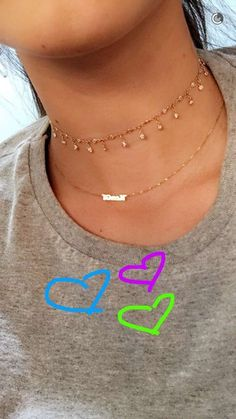 Get the Look for Less: Kendall Jenner - Shop our Lita Dainty Gold Choker to get a similar look as Kendall's!