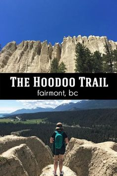 The Hoodoo Trail at Fairmont Hot Springs in BC is an easy family-friendly hike leading to spectacular views from on top of the hoodos! Canada Destinations, Top Travel Destinations, Places To Travel, Places To Go, Travel Info, Time Travel, Travel Stuff, Travel Deals, Vacation Places