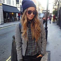 Hm tweed and plaid
