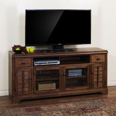 Sunny Designs 3535AC-65 Savannah 65-in TV Console | ATG Stores