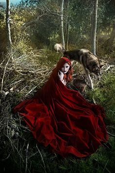"""""""She did not know that the wolf was a wicked sort of animal, and she was not afraid of him."""" ― Marissa Meyer, Scarlet {The Lunar Chronicles}"""