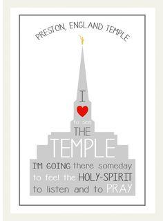 Preston Temple - standard print