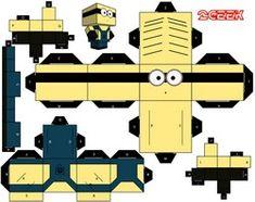 UNIVERSO DESBRAVADOR:: Geral - Faça Você - Paper Toys - Bonecos de Papel
