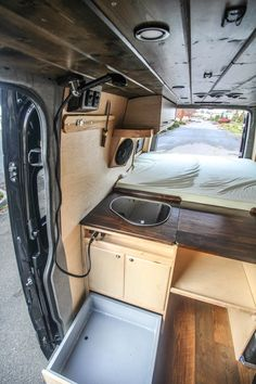 Space saver for a camper van shower. lif life diy how to build life diy ideas life diy interiors life diy projects Van Conversion Shower, Van Conversion Build, Van Conversion Interior, Sprinter Van Conversion, Camper Van Conversion Diy, Camper Van Shower, Camper Diy, T3 Vw, Converted Vans