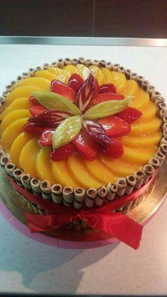 Ovocny dortik (fruit cake)