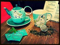 Nieuw in ons assortiment!   Milly unicorn servies ❤  www.coffee-tasty.eu